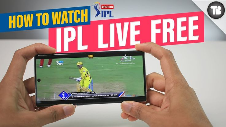 Free Apps to Watch IPL 2021